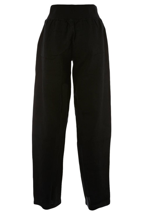 Bicalla Linen Trousers - Black
