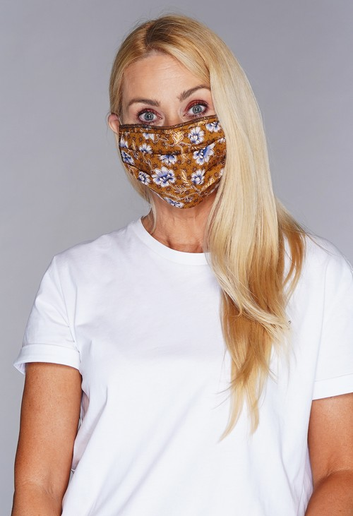 Lonkel Two Tone Textile Mask