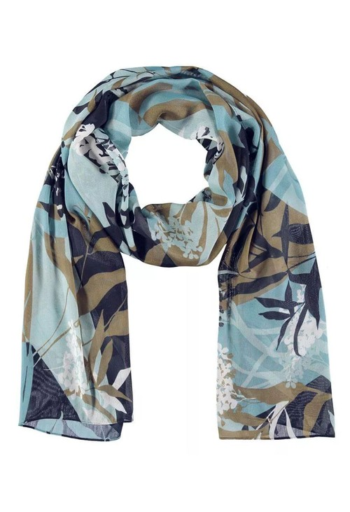 Gerry Weber Floral Panel Print Scarf