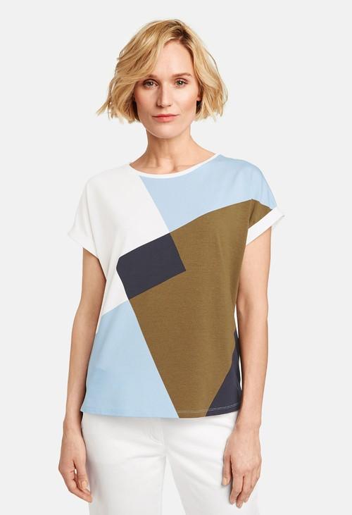 Gerry Weber patchwork pattern top