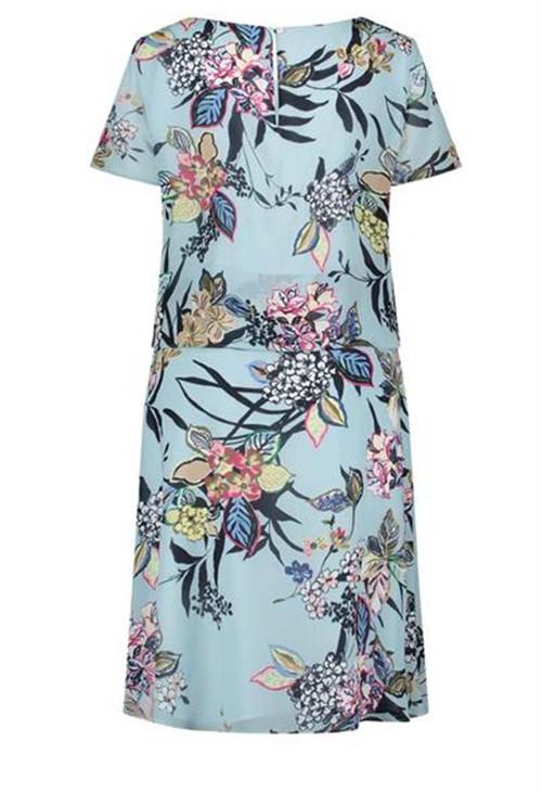Gerry Weber Light blue dress with floral design