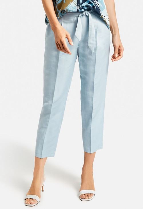 Gerry Weber Trousers with cotton and linen