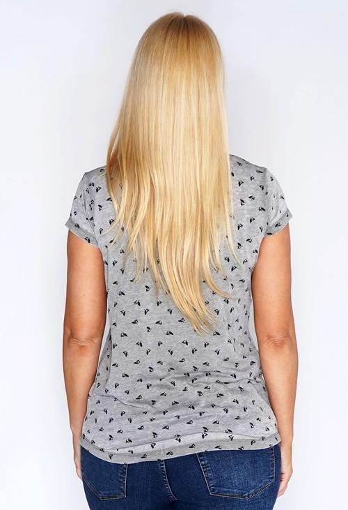 Bicalla Oil Dye Bird T-shirt