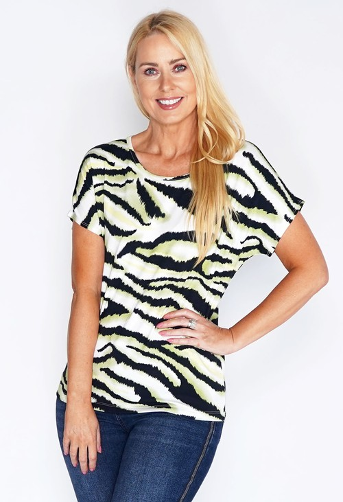 Bicalla Zebra Stripe T-shirt