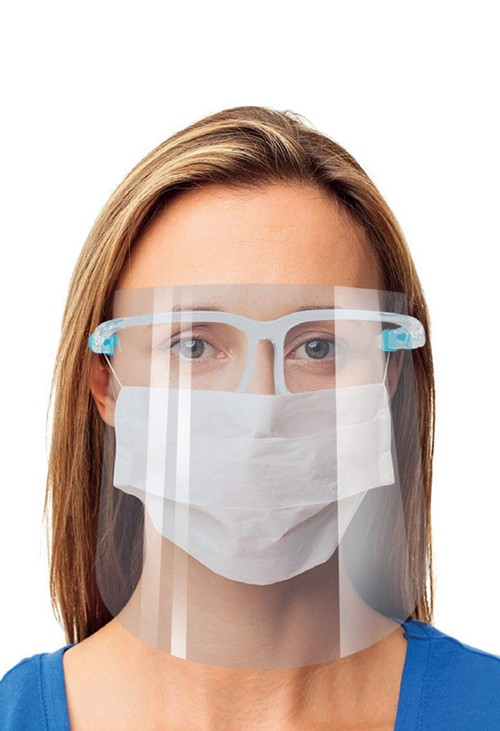 Healthcare Crystal Clear Face Shield