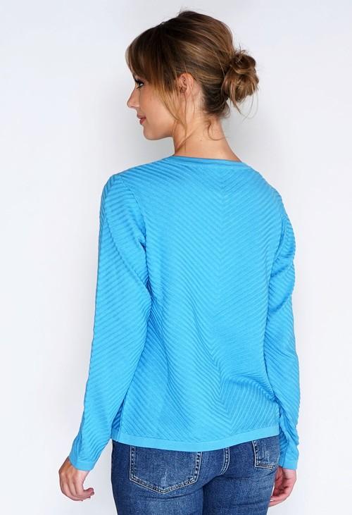 Twist Zip Up Knit Cardi