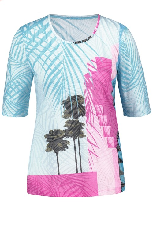 Gerry Weber Top with a palm tree print