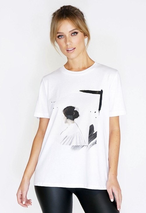 Pamela Scott Lady Printed T-shirt