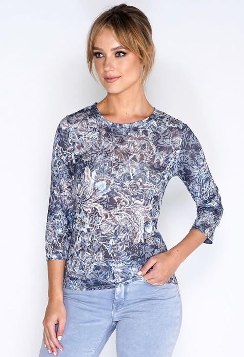 Bicalla Shirt Burnout Print