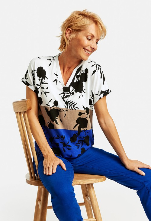 Gerry Weber Top with a mix of patterns