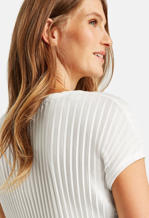 Gerry Weber Top with a ribbed texture