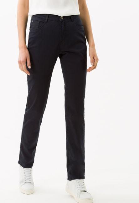 Brax Navy Five-Pocket Trousers