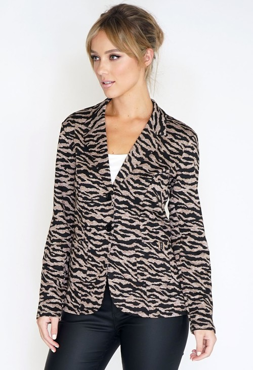 Betty Barclay Animal Print Blazer