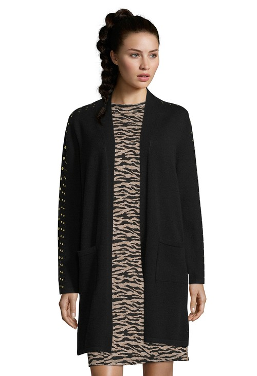 Betty Barclay Black Long Cardigan