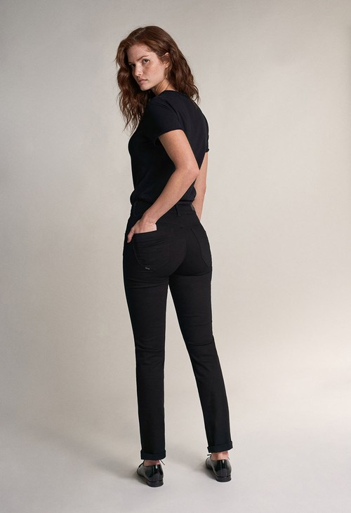 Salsa Jeans PUSH IN SECRET SLIM TRUE BLACK JEANS  (32 Leg)