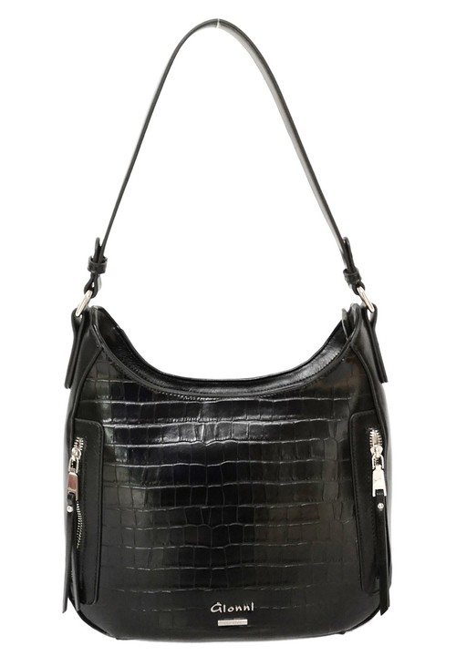 Gionni Crocodile Hobo Bag