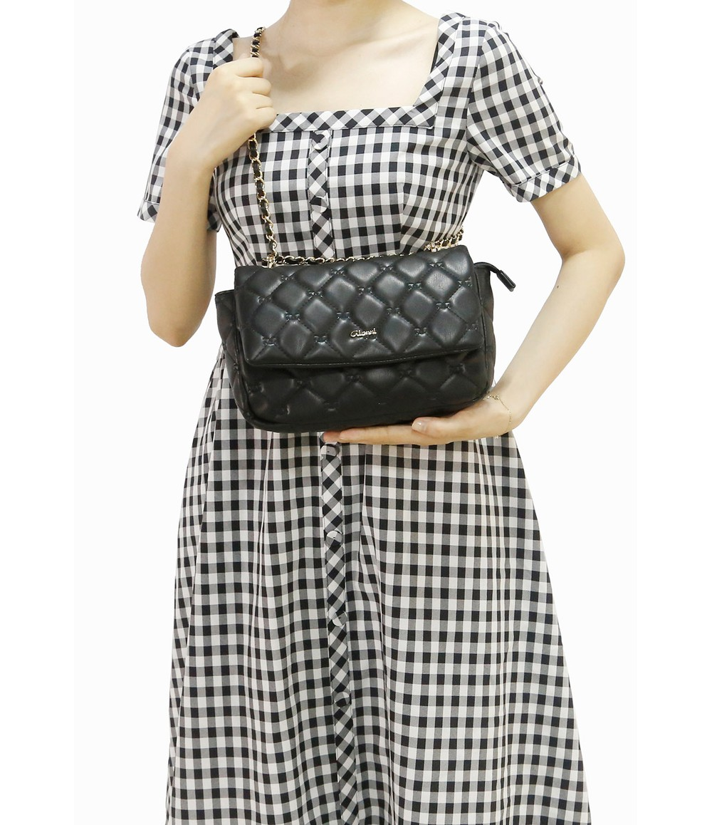 Gionni Quilted Crossbody Bag