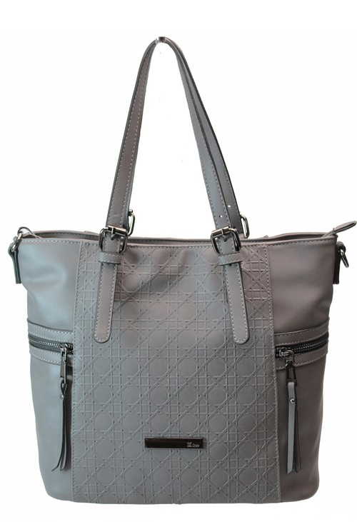 Dice Grey Tote Bag