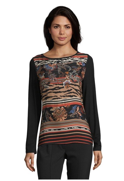 Betty Barclay Printed Front Top