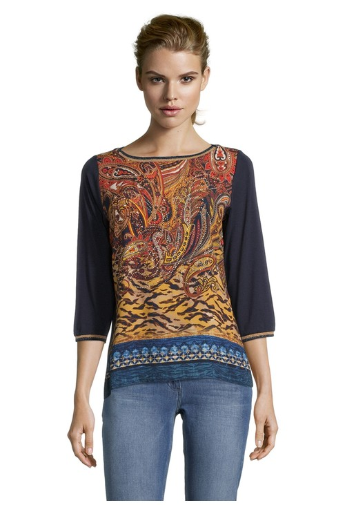 Betty Barclay Print Front Top