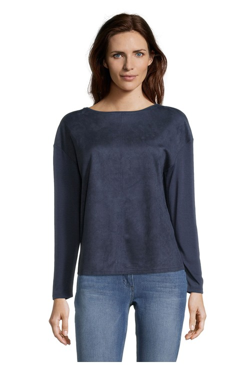 Betty Barclay Suede Front Top