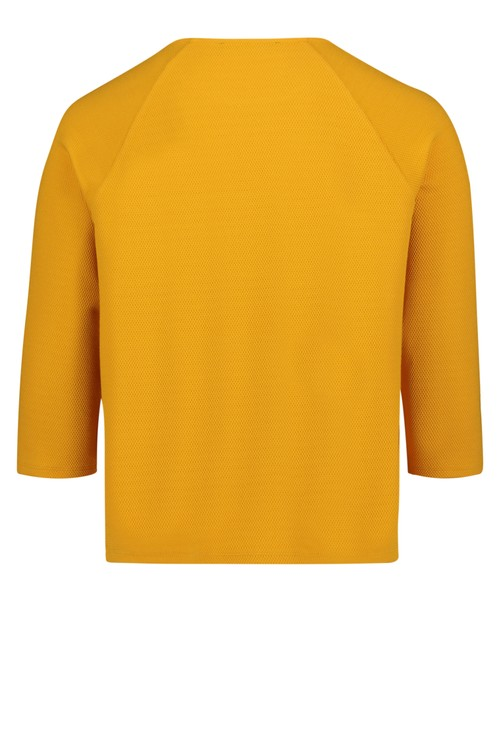 Betty Barclay TEXTURED SWEATSHIRT WITH STUD DETAI