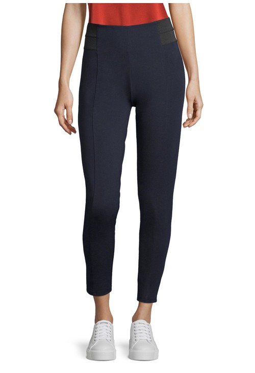 Betty Barclay ELASTICATED WAIST TROUSER NAVY
