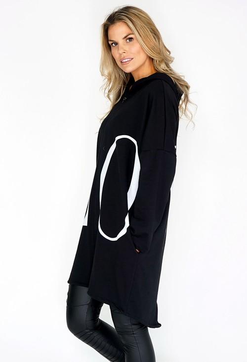 Zapara Love Zip Up Jacket with Hood