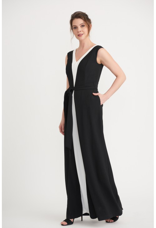 Joseph Ribkoff Monochrome Full Length Gown