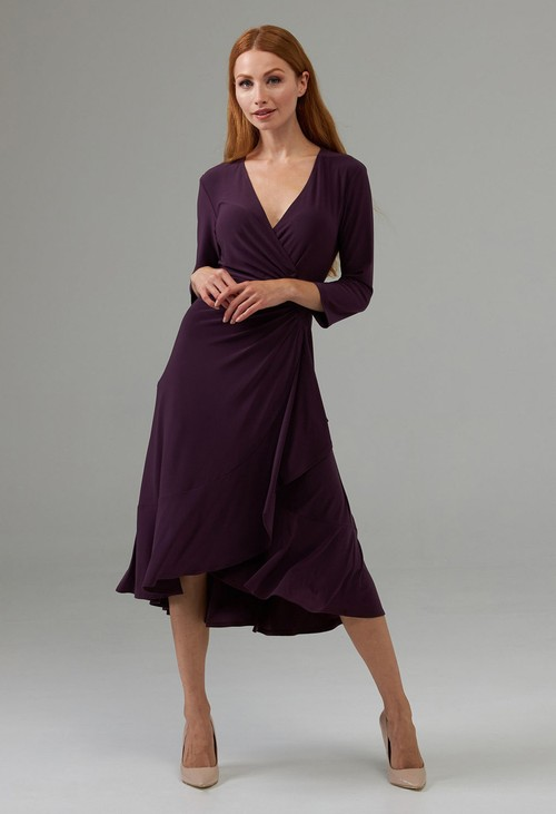 Joseph Ribkoff Side Cinched Wrap Dress