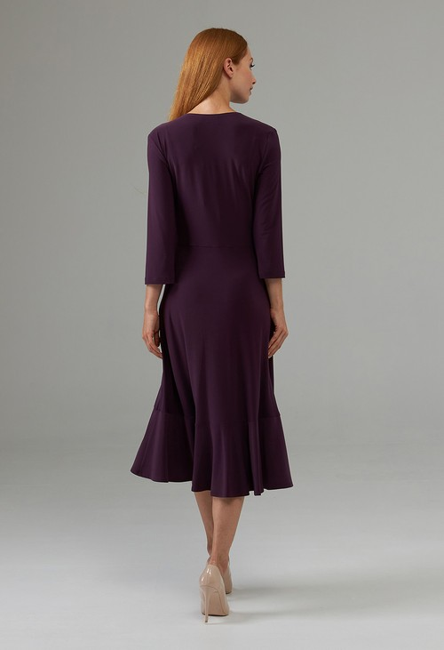 Joseph Ribkoff Side Cinched Wrap Dress