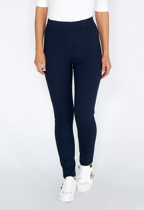 Sophie B Easy Pull on Navy Leggings