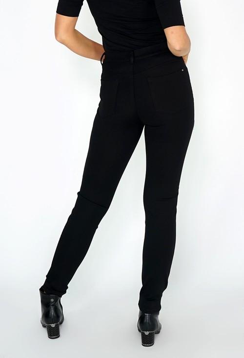 Sophie B Black Tuxedo Leg with Diamante Details