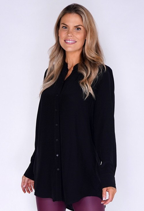 Opus Black Button Down Shirt