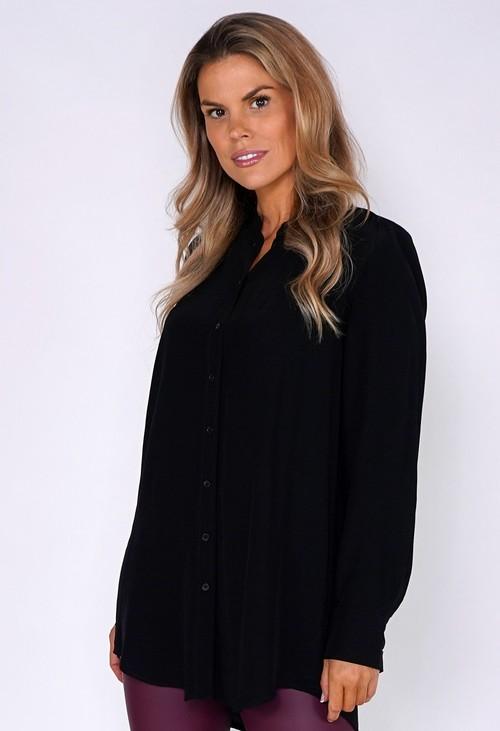 Opus Black Button Down Shirt
