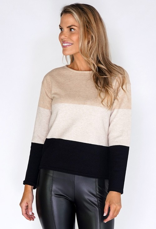 Betty Barclay Colourblock Jumper