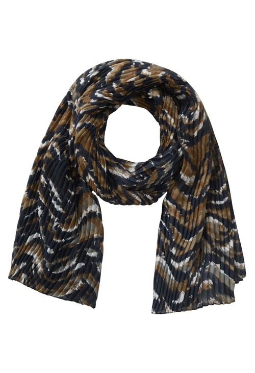 Betty Barclay Printed Plissé Scarf