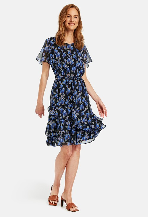 Gerry Weber Dress with flounces