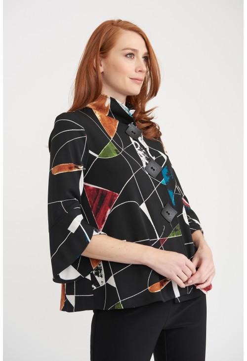 Joseph Ribkoff Graphic Patterned Jacket