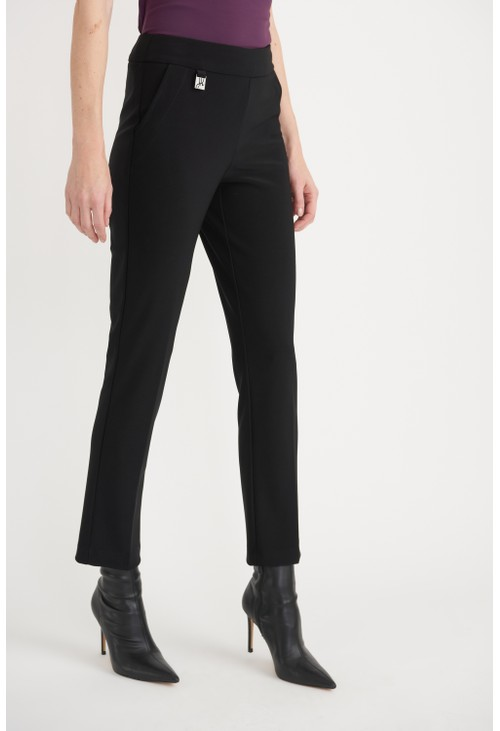 Joseph Ribkoff Black Slim Fit Trouser
