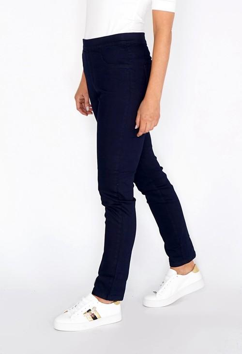 Twist Navy Slim Leg Pull Up Jeans