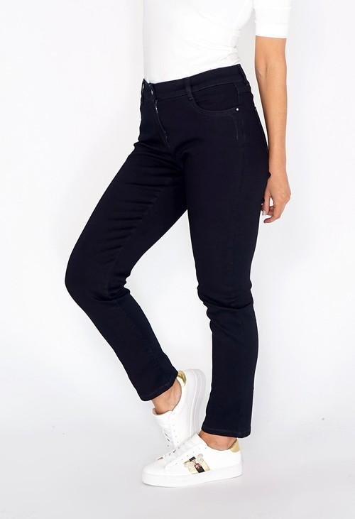 Sophie B Navy Straight Leg Jeans