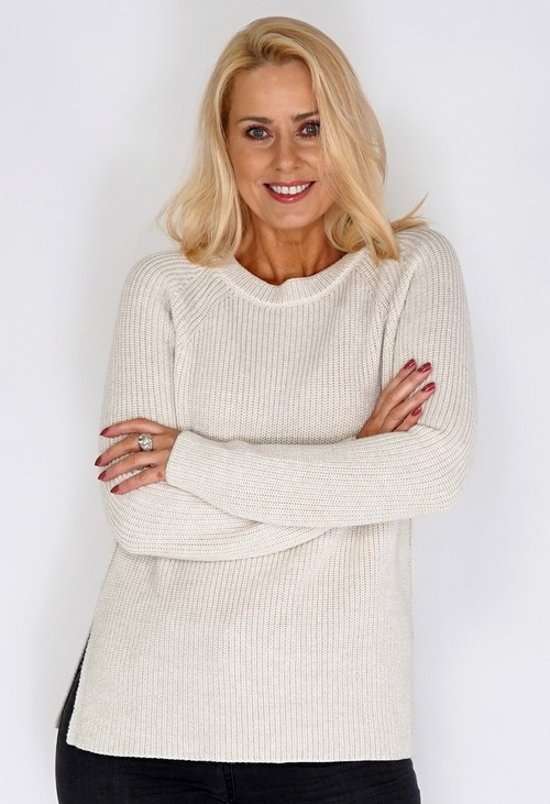 Bicalla Sand Thick Wool Jumper