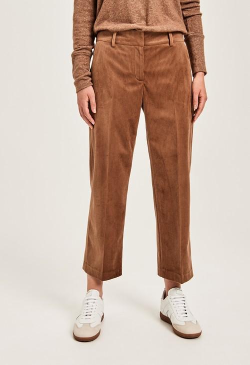 Opus Peanut Cord Trousers
