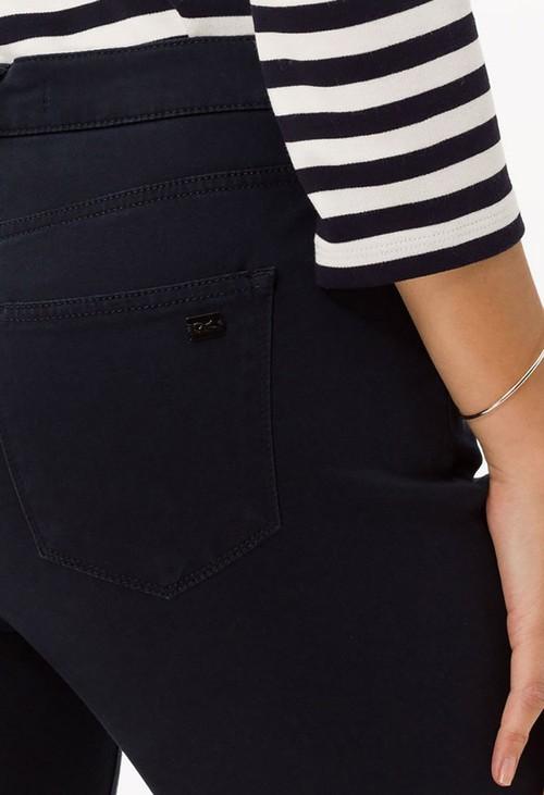 Brax Navy Mary Short Leg Jeans
