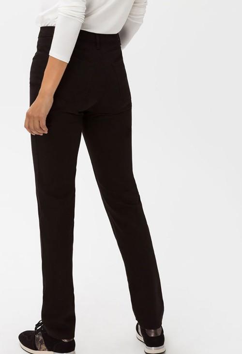 Brax Black Mary Short Leg Jeans