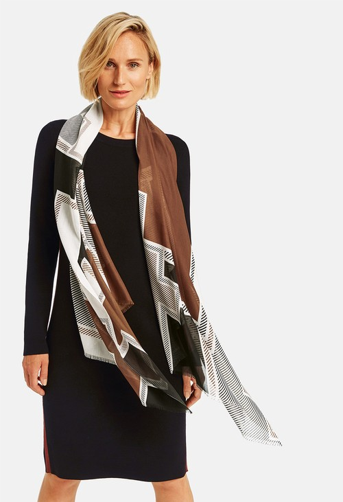 Gerry Weber Graphic Pattern Scarf