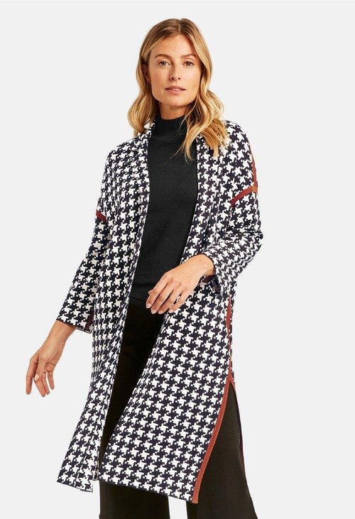 Gerry Weber Hounds Tooth Cardigan