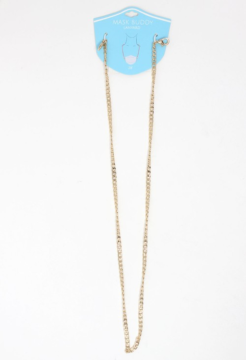 Healthcare Mask Buddy Lanyard Gold