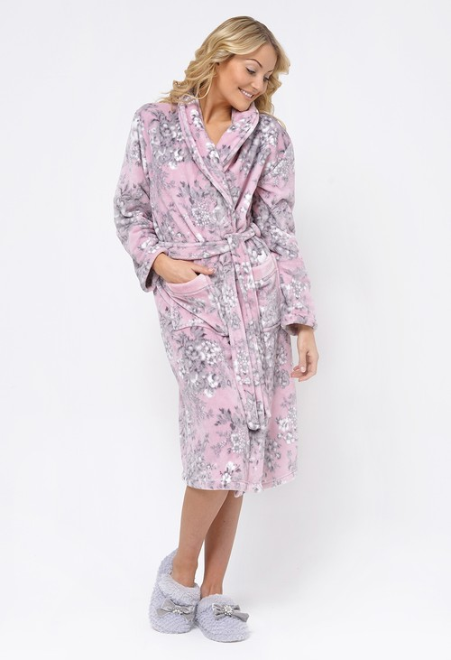 Something Special Pink Luxury Dressing Gown